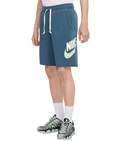 Nike Big Tall NSW FT Alumni Shorts (Ash Green/Sail) Men