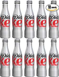 Diet Coke, 8.5oz Aluminum Bottle (Pack of 10, Total of 85 oz)
