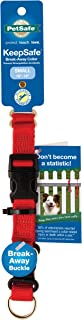 Petsafe KeepSafe Break-Away Collar, Prevent Collar Accidents for Your Dog or Puppy, Improve Safety, Compatible with Lead U...