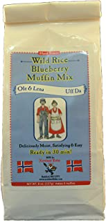 Ole & Lena WIld Rice Blueberry Muffin Mix 8 oz 2 pack