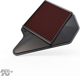 K&N Engine Air Filter: High Performance,  Premium,  Washable,  Replacement Filter: 2011-2019 Dodge/Chrysler/Lancia/Ram/Volkswagen (Grand Caravan,  Town & Country Van,  Voyager,  Cargo Van,  Routan),  33-2462