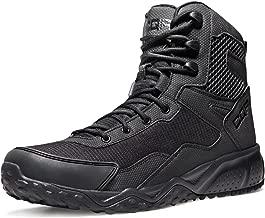 [CQR] 軽量 ミリタリーブーツ [ミドルカット・耐久性・通気性] アウトドア サバゲー 登山 日常着用 安全靴 キャンプ ライダー ブーツ BZ101・BT102