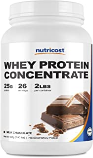 Sponsored Ad - Nutricost Whey Protein Concentrate (Chocolate) 2LBS - Gluten Free & Non-GMO