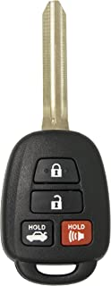 Keyless2Go New Keyless Entry Remote Car Key for Vehicles That Use HYQ12BDM, HYQ12BEL with H Chip