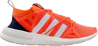 adidas Originals Women's ARKYN Primeknit Boost Shoes (6.5, Solar Orange/Cloud White/Ice Mint)