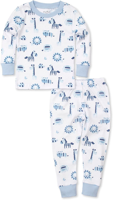 Kissy Kissy Baby-Boys Infant Pajamas Jungle Jibes Print Long Pajamas Set