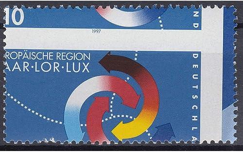 Goldhahn BRD Bund Nr. 1957 postfrisch  verschobenes Druckbild Briefmarken für Sammler