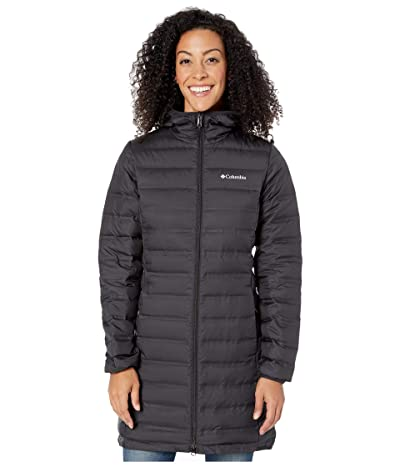 Columbia Lake 22tm Down Long Hooded Jacket (Black) Women