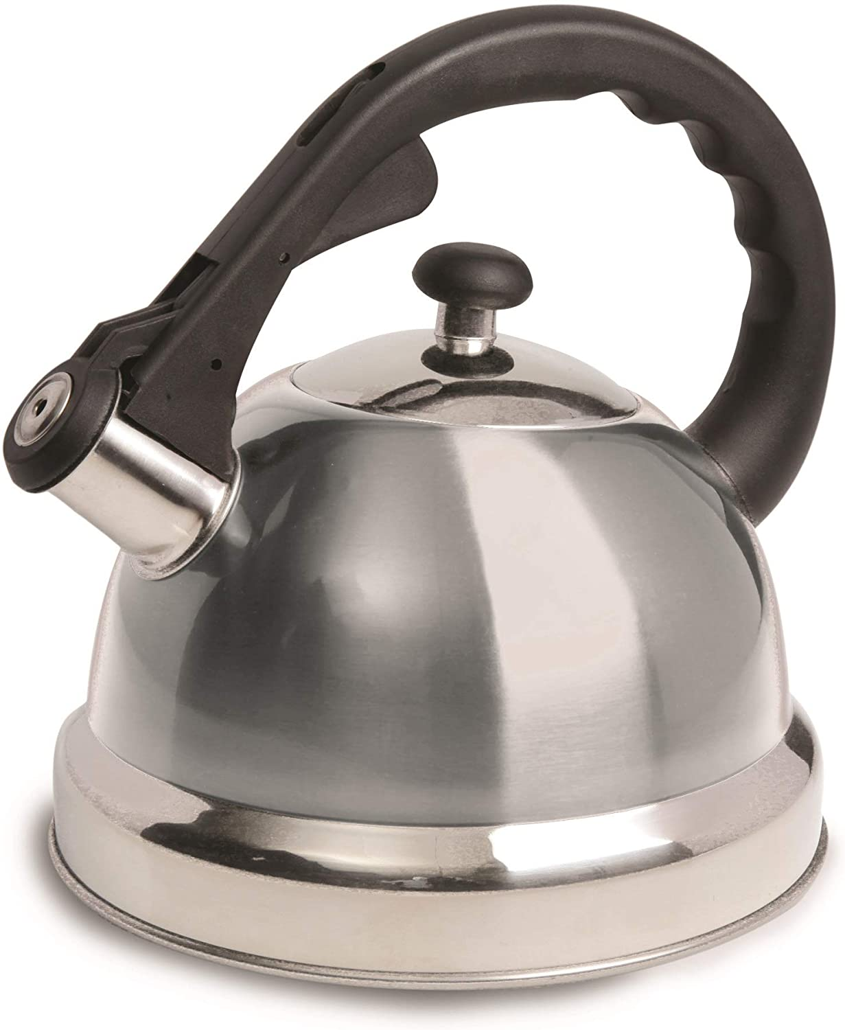 Mr Coffee Claredale Max 60% OFF Whistling Tea Max 88% OFF Brushed 2.2-Quart Sta Kettle