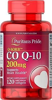 Puritans Pride Q-Sorb Co Q-10 200 Mg, 120 Count