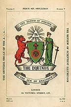 The Equinox: Keep Silence Edition, Vol. 1, No. 5
