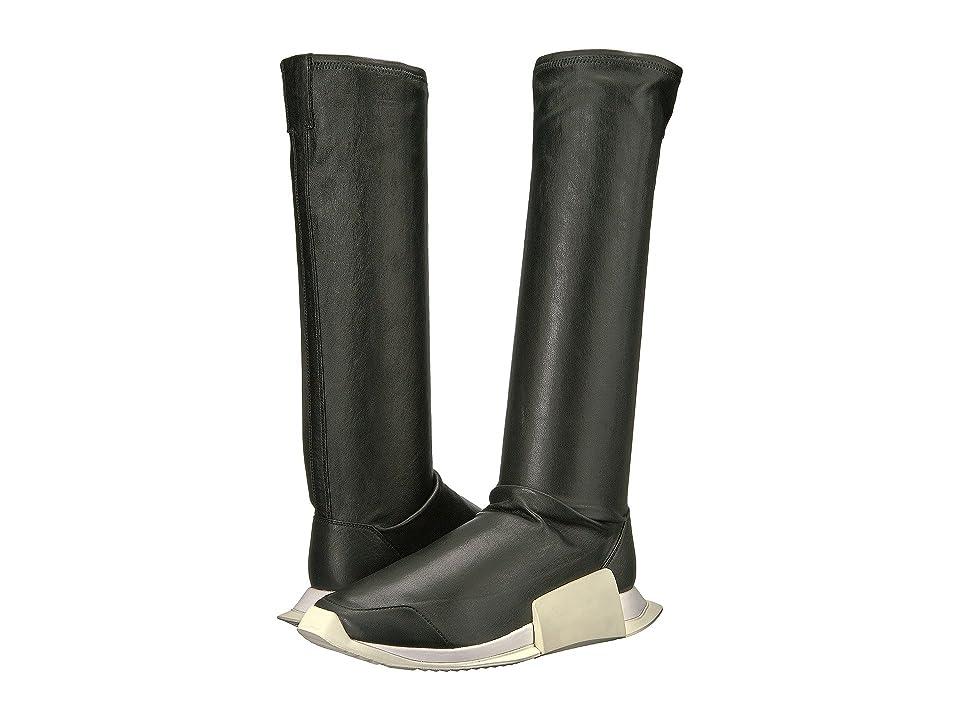 adidas by Rick Owens RO Level Runner Boot (RO Black/RO Black/RO Milk) Men