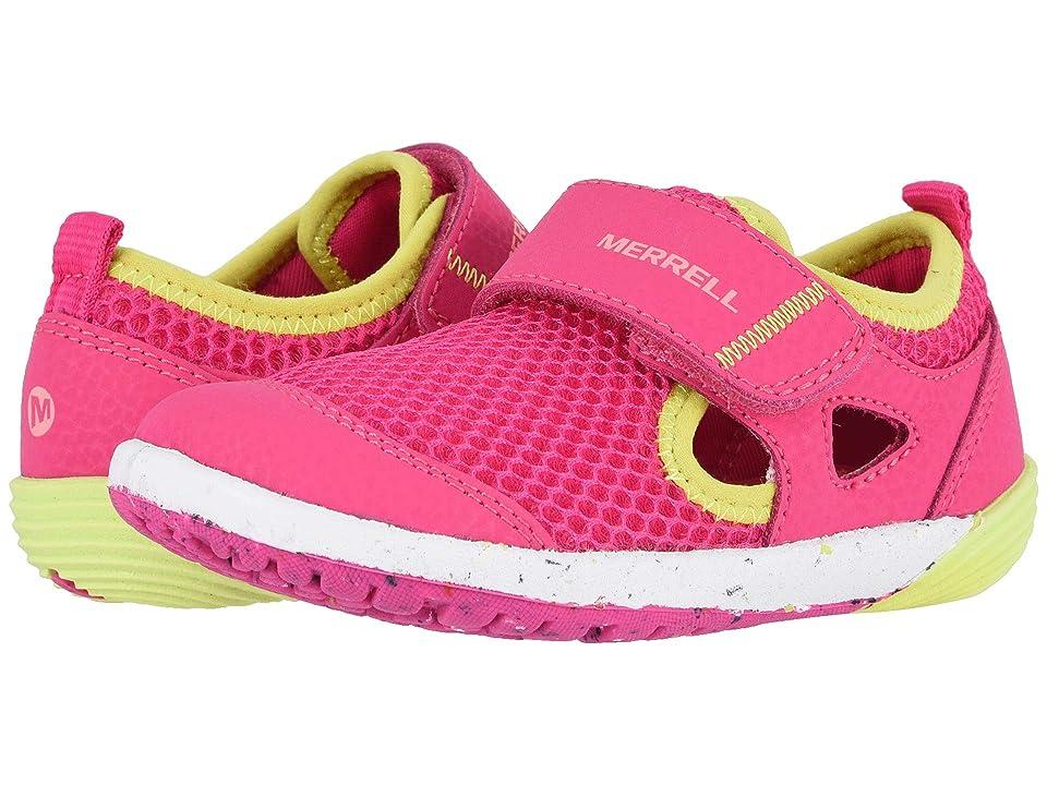 Merrell Kids Bare Steps H20 (Toddler) (Pink) Girls Shoes