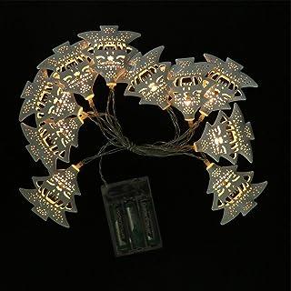 KESYOO Christmas String Lights Xmas Tree Fairy Light Lamp LED Holiday String Lights for Wedding Christmas Party Decoration