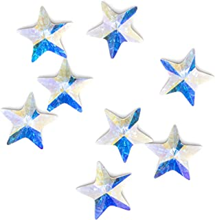 Swarovski - Create Your Style 5mm Ab Star Flatback 3 packages of 8 Piece (24 Total Crystals)