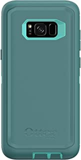 OtterBox Defender Series for Samsung Galaxy S8+ Plus Case Only - Bulk Packaging - Aqua Mint Way (Aqua Mint/Mountain Range Green)