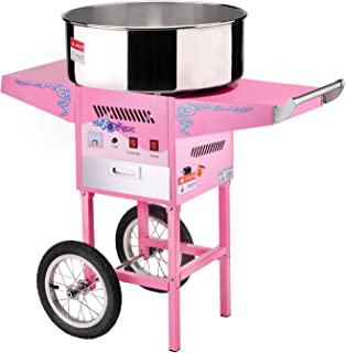 6304 Great Northern Popcorn Commercial Cotton Candy Machine Floss Maker With Cart