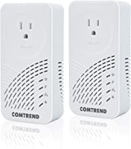 Comtrend G.hn Powerline Adapter with Pass-Through Outlet, 2-Unit Kit, PG-9182PT-KIT