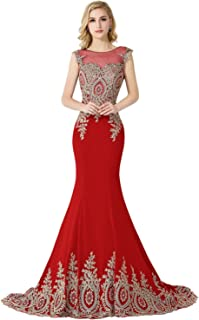 Best cheap red and gold prom dresses Reviews