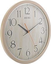 سيكو ساعات حائط بلاستيك انالوج، QXA718AR