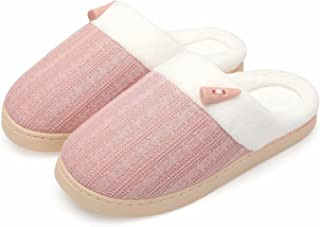 Women's Summer Slippers Scuff Comfy House Shoes Slip on...