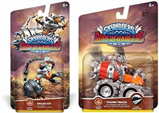 Skylanders Superchargers Character & Vehicle Bundle - Smash Hit & Thump Truck