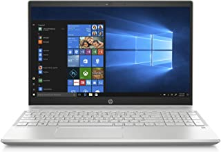 HP Pavilion 15-cs1001ne Laptop, Intel Core i7-8565U, 15.6 Inch, 1TB HDD + 128GB SSD, 16GB RAM, Nvidia Geforce MX150 (4GB Graphics), Win 10, Eng-Ara KB, Silver