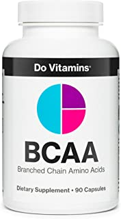Best BCAA Capsules - Ranked #1 on Labdoor - Branched Chain Amino Acids Capsules, Vegan BCAA Pills for Men and Women 2:1:1 ...