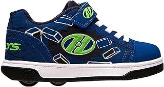 Noir//Jaune Brillant//Splatter Chaussures /à roulettes pour gar/çons Heelys Enfants Velocity