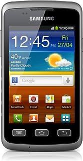 Samsung Galaxy Xcover S5690 - Smartphone libre Android (cámara 3.2 Mp) color gris [Importado de Alemania]