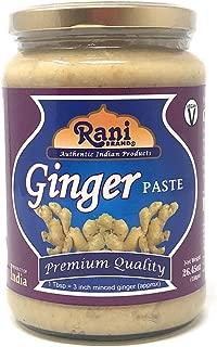 Rani Ginger Cooking Paste 26.5oz (750g) ~ Vegan | Glass Jar | Gluten Free | NON-GMO | No Colors | Indian Origin …