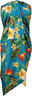 Sarong Allover Ocean Scenic Flower Beach Swimsuit Wrap One Size Pareo
