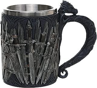 Pacific Giftware Legends of The Swords Game of Sword Thrones Dragon Mug Tankard 13oz