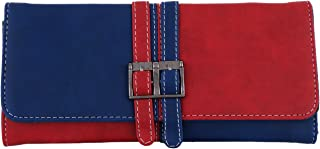 Fristo Women Wallet(FRW-086) Blue and Red