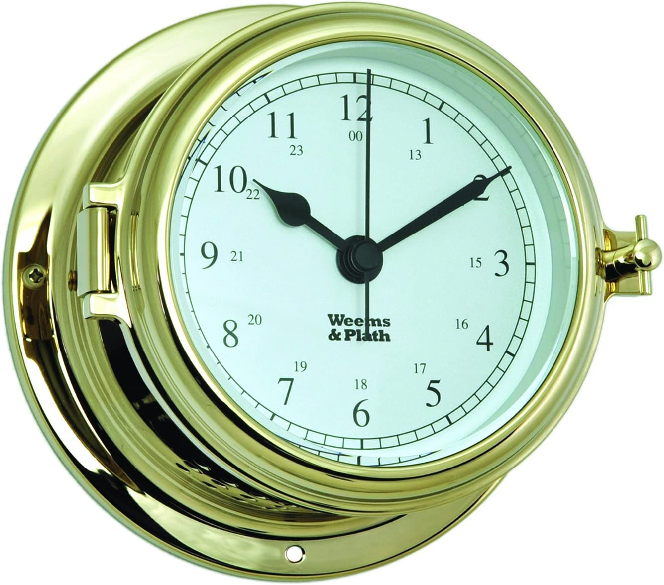 Weems And Plath Endurance Ii 115 Quartz Clock Brass Amazon Co Uk Sports Outdoors