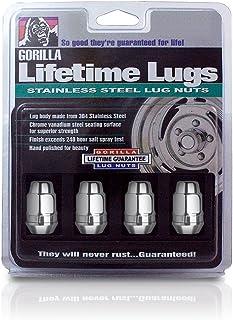 12mm x 1.25 Thread Size Gorilla Automotive 73127CRB Cragar Mag Lug Nuts
