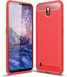 جراب FanTing لهاتف نوكيا C1، مضاد للانزلاق، رفيع للغاية لامتصاص الصدمات ومضاد للخدش، غطاء لهاتف نوكيا C1 - Nokia C1 Nokia C1