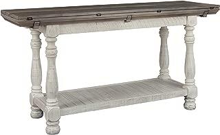 Signature Design by Ashley Havalance SOFA TABLE, Gray/White