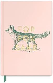 """Designworks Ink Vintage Sass A5 inbunden anteckningsbok journal, """"för Fox Sake"""", 14,6 cm x 21,6 cm"""