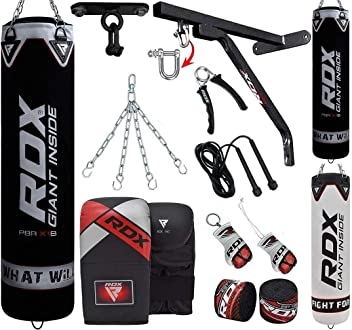 RDX Free Standing Boxing 6FT Punching Bag Filled Heavy Duty MMA Training Gloves