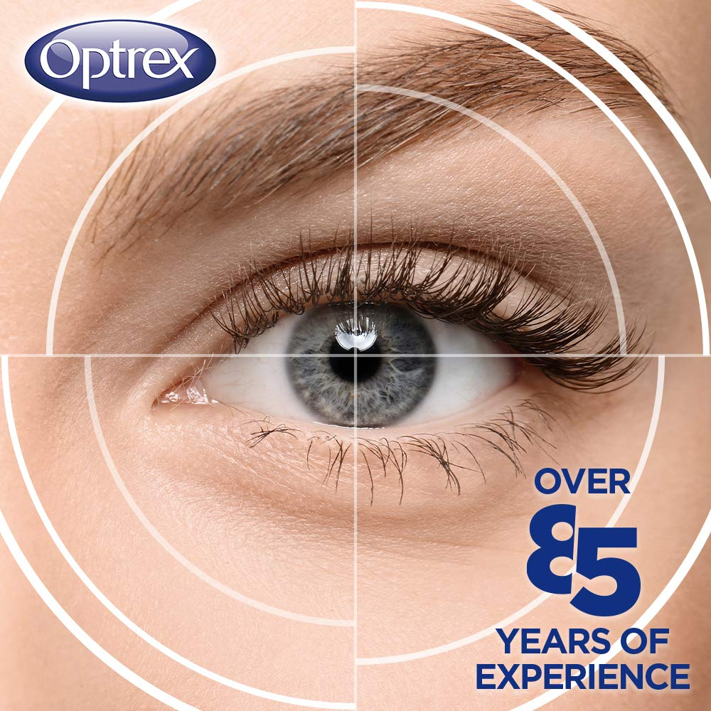 Optrex Double Action ActiMist Dry and Irritated Eye Drops Spray, 10 ml