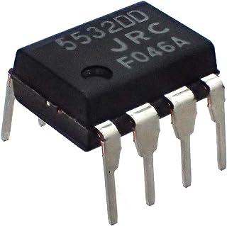 JRC(新日本無線) 2回路 低雑音 オペアンプ NJM5532DD (5個セット)