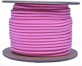 "Rose Pink 1/8"" schokkoord - GEBORED PARACORD Marine Grade Shock /Bungee/Stretch Cord 1/8"" x 12 ft Verschillende kleuren - ..."