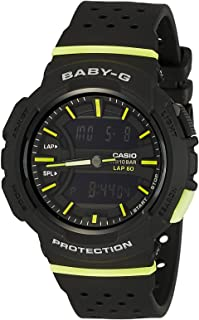 BABY-G Women's BGA240-1A2 Year-Round Analog-Digital Automatic Black Watch