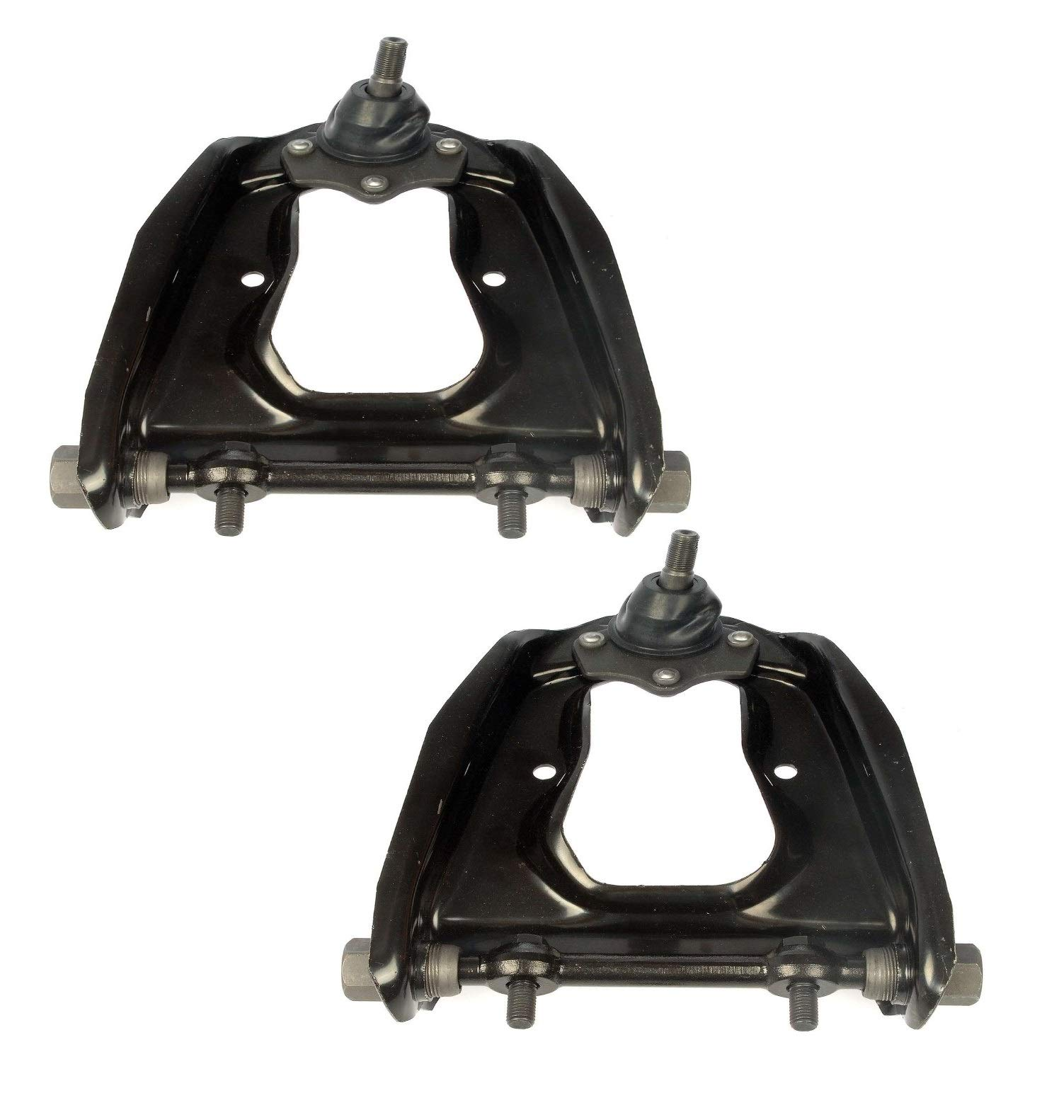 Pair Set of 2 Front Upper Control Arm and Ball Joint Kit Dorman For Ford Mercury