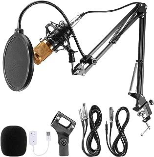 Voilamart Condenser Microphone Set BM-800 with Adjustable...