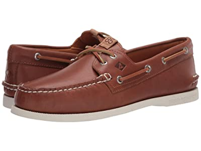 Sperry Authentic Original 2-Eye 85th Anniversary (Tan/White) Men