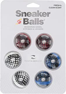 Sneaker Balls Shoe, Gym Bag, and Locker Deodorizer, 3 Pair