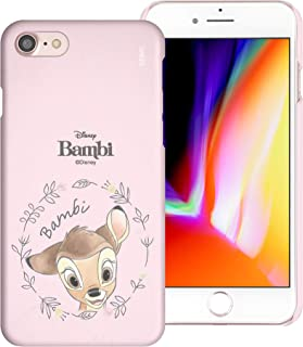 Carcasa compatible con iPhone 8 Plus/iPhone 7 Plus [Slim Fit] Bambi superficie fina mate dura excelente agarre – Face Bambi