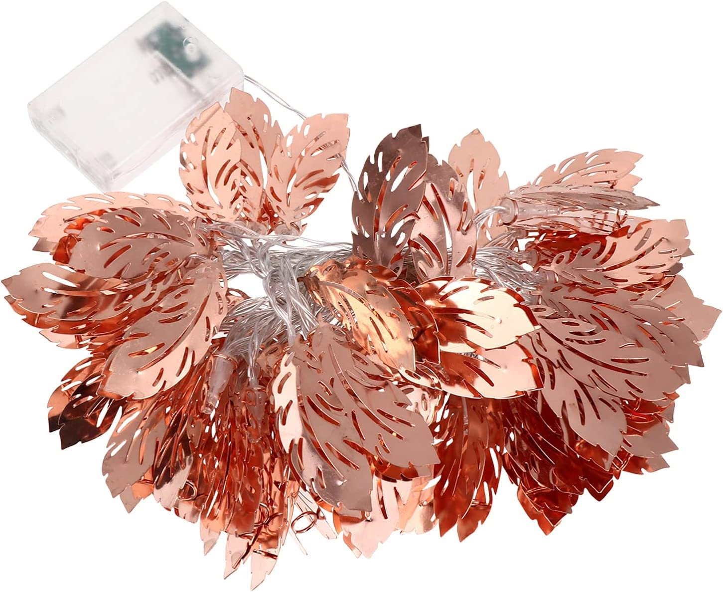 OSALADI Rose Gold Iron String 2021 autumn and winter new Lamps Large discharge sale Decorative Bedroom Light 5
